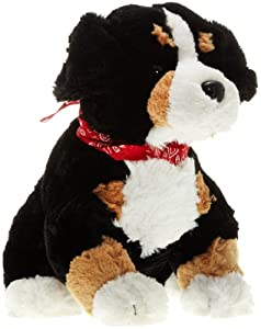 Play n Pets PNP-2179B Sitting Dog with Scarf 32cm