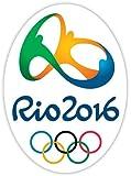 "BRAZIL BRASIL RIO 2016 4""x5"" Sticker Decal Vinyl Summer Olympic Games"