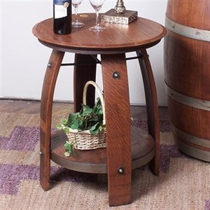 Cheap 2 Day Designs 819-005 Barrel End Table (B0046G1QES)