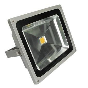 4X 20W 12V LED Fluter Flutlicht Außen Strahler Scheinwerfer Licht Warmeiß IP65