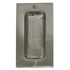 Brushed Nickel Pocket Door Hardware Brushednickel Biz