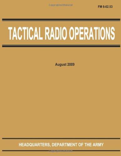 Tactical Radio Operations (Fm 6-02.53)