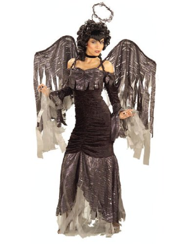 Women's Gothic Angel Costume
