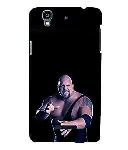 printtech WWE Big Show Back Case Cover for YU Yureka::Micromax Yureka AO5510