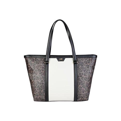 roberto-cavalli-class-signature-collection-sac-a-main-fourre-tout-cuir-32-cm-black-offwhite