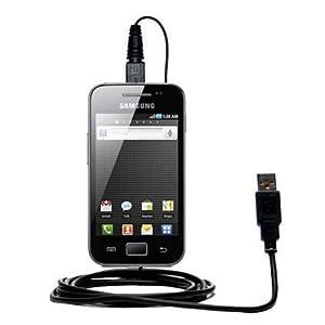 Un câble USB lisse Data HotSync pour le Samsung GT-S5830 avec la fonction charge