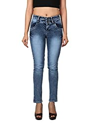 WineGlass Ankle Fit Womens Stretch Denim Jeans 735st