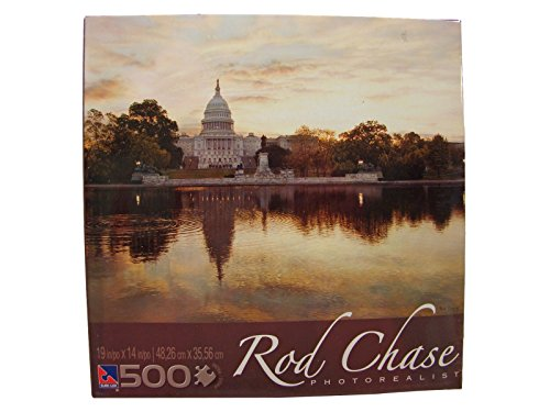 Rod Chase Photorealist 500 Piece Jigsaw Puzzle: We the People