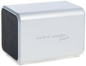Music Angel Friendz Mini Enceinte portable Argent
