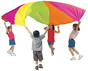 Pacific Play Tents Playchute 10' Parachute (Colors and Designs May Vary)