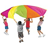 Pacific Play Tents Playchute 10' Parachute (Colors and Designs May Vary) ~ PACIFIC PLAY TENTS