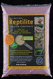 Carib Sea SCS00719 4-Pack Reptiles Calcium Substrate Sand, 10-Pound, Desert Plum