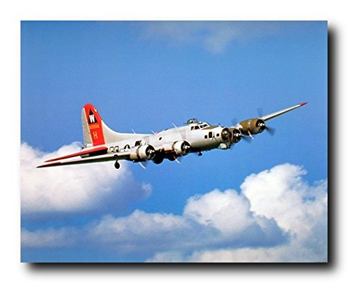 Boeing B-17 Flying Fortresses United States Army Air Forces Art Print Poster (16x20)