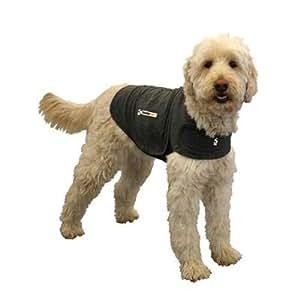 Thundershirt  Dog Jacket for Anxiety, Large, Solid Grey