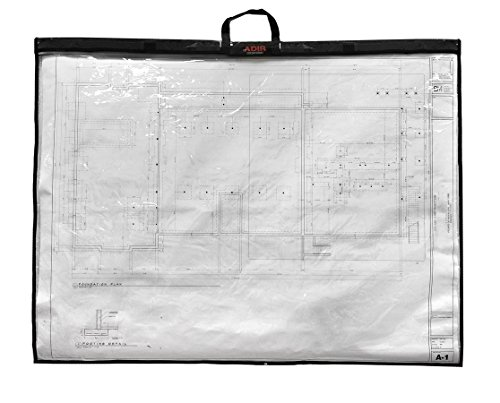 Adir Corp. PS1836 Foldable Waterproof Plans Shield - Blueprint Shield - Plans Carrier - Blueprint Carrier - Map Case - Map Shield - Document Case (18 x 36) (Construction Drawings Carrier compare prices)