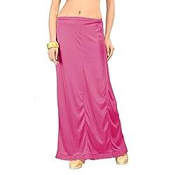 Freya Womens Petticoat (PT_DPK_Dark-pink_Free Size)