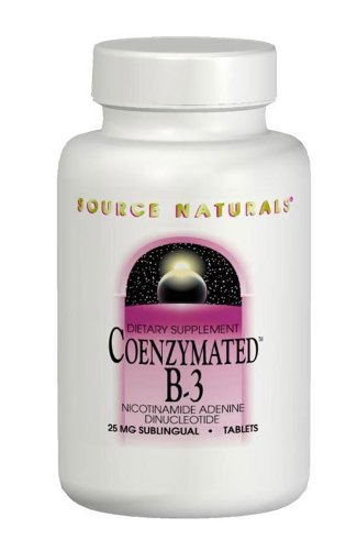 Source Naturals Coenzymated B-3, 25Mg, 30 Tablets