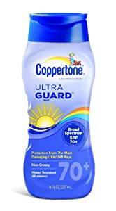 Coppertone Ultra Guard Sunscreen Lotion Broad Spectrum