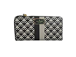 Kate Spade New York Penn Place Neda Zip Around Continenal Wallet (Black)