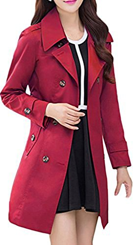 Wantdo-Womens-Double-Breasted-Trench-Coat-with-Belt