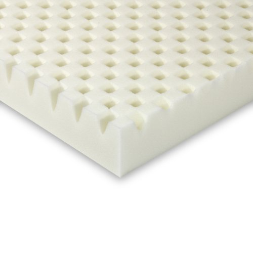 Sleep Innovations 3 Inch Sculpted Memory Foam Queen