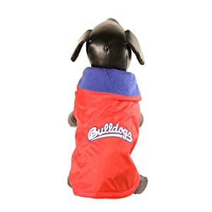 NCAA Fresno State Bulldogs All Weather-Resistant Protective Dog Outerwear, Large by All Star Dogs