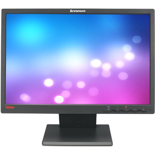 """Ibm Thinkvision L194 Business Black 19"""" Widescreen Screen 1440 X 900 At 60Hz Resolution Refurbished Lcd Flat Panel Monitor"""