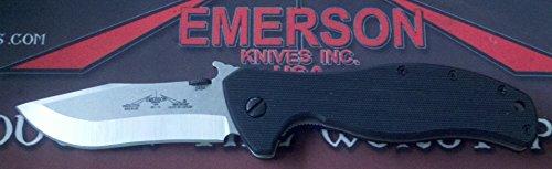 Emerson Vindicator Sf With Plain Stonewashed Blade