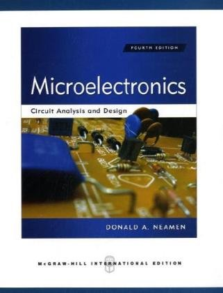 microelectronics circuit analysis and design 5th edition pdf