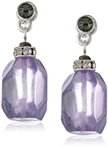 "Kenneth Cole New York ""Shards"" Faceted Bead Drop Earrings"