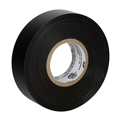 Duck Brand 299006 3/4-Inch by 60 Feet Utility Vinyl Electrical Tape with Single Roll, Black (Duct Tape Amazon compare prices)