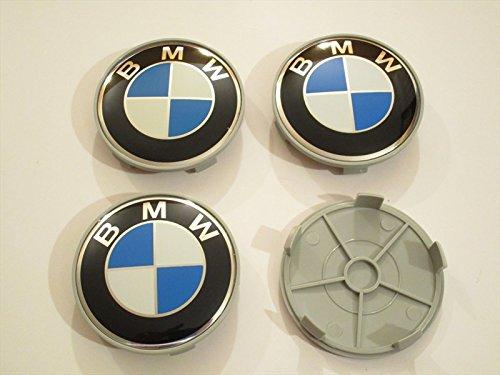 4-coprimozzo-fregi-bmw-68mm-per-cerchi-in-lega-e36-e39-e45-e90-316-318-m3-z4-x1-x3-x5-serie1-3