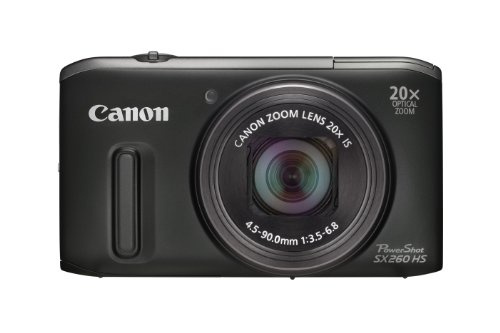 Canon Powershot SX260 HS GPS Digital Camera -