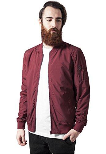 light-bomber-jacket-urban-classics-streetwear-mens-jacket-burgundy-xl