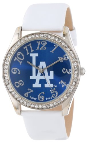 Game Time Women's MLB-GLI-LA Glitz Classic Analog Los Angeles Dodgers Watch at Amazon.com