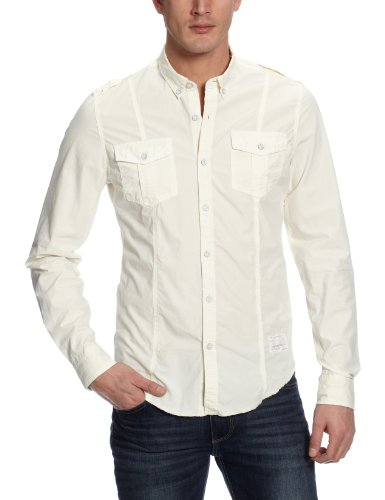 Calvin Klein Men's Solid Casual Shirt  available at amazon for Rs.3599