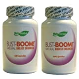 2 Bottles - Bust-Boom! Breast Enlargement/Acne Pills - Female Sexual Enhancement - 120 Day Supply ~ Bust-Boom! Breast...