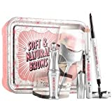 Benefit Cosmetics Soft & Natural Brow Kit Color 06 Deep - dark brown to black (cool)