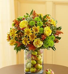 Flowers by 1800Flowers - Fruitful Gatherings Bouquet - Small