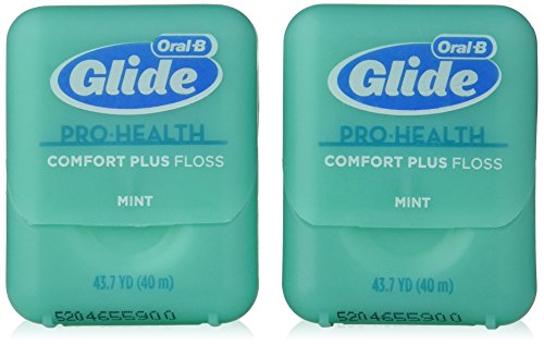 Oral-B Glide Pro-Health Comfort Plus Mint Flavor Floss Twin Pack 80 M