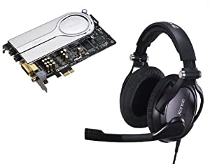 Asus Xonar Xence Sound Card with Sennheiser Headset