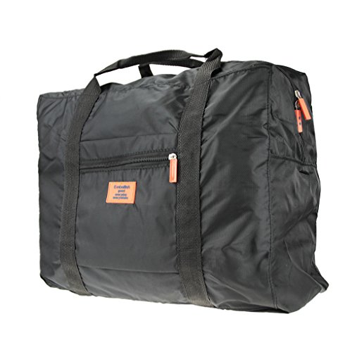 fakeface waterproof large capacity folding travel pouch