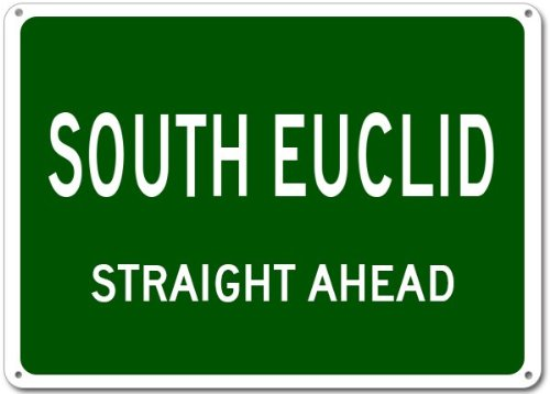 South Euclid, Ohio city sign