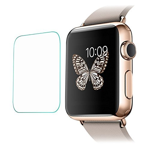 5ive 0.2mm Tempered Glass Screen Protector for Apple Watch 38mm, Pack of 2pcs
