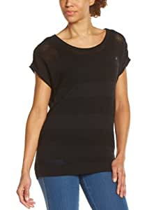 Oxbow Nakano Pull manches courtes femme Noir FR : 36 (Taille Fabricant : 1)