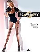 Gabriella Sexy Femme Collants avec Couture Arrière GB 363 20 DEN
