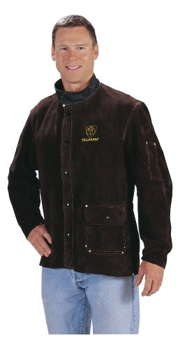 Tillman 2480A-L Chocolate Brown Leather Jacket - LARGE