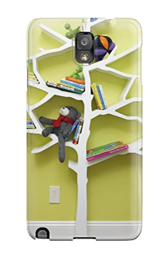 Cute Appearance Cover/tpu UPyjLrA23527igReT Whimsical Tree Bookcase In Contemporary Nursery Case For Galaxy Note 3