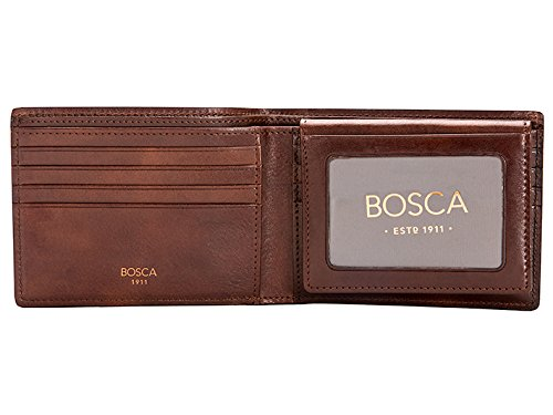 bosca-mens-dolce-collection-credit-card-wallet-w-id-passcase-one-size-dark-brown