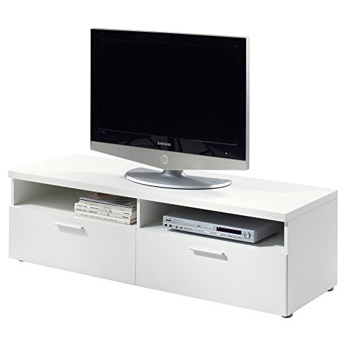 Tvilum Hayward Tv Stand For Tv'S Up To 55-Inch, White